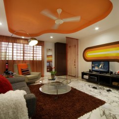 Lights For Living Room Singapore Best Wallpapers Shagedelic Retro Apartment In - Contemporary ...