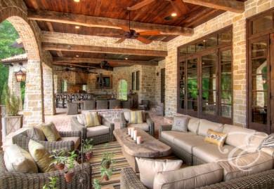 Tuscan Living Room Home Decor