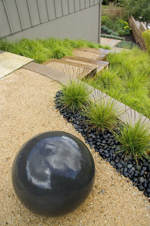 type of black landscaping