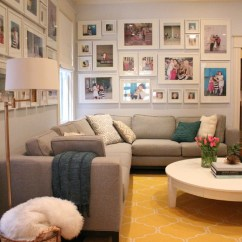 Living Room Decorating Ideas Picture Frames Divider In 15 Fun Features For Family Rooms