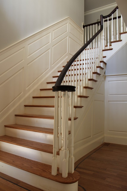 Interior Finish Carpentry  Traditional  Staircase
