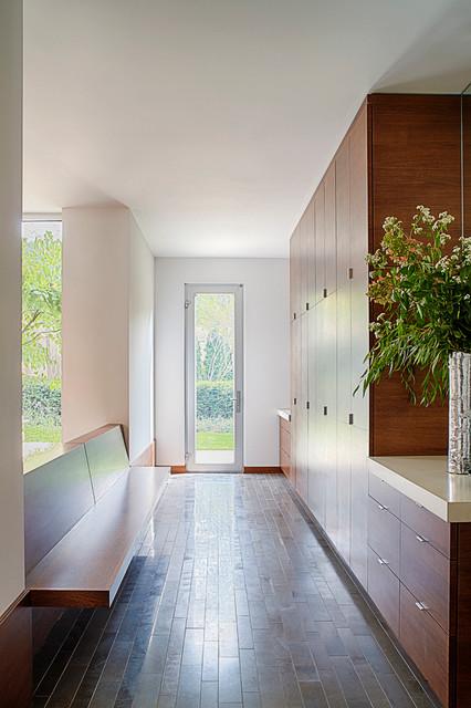 Modern Mud Room  Modern  Entry  chicago  by Michael Robinson Photography LLC