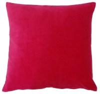 Pink Velvet Pillow - Contemporary - Decorative Pillows