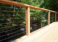 Deck, patio, porch, balcony cable railing - Modern - Deck ...