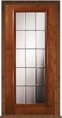 French Doors Exterior: Single Exterior French Door