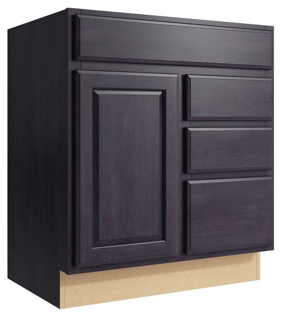 Cardell Cabinets Salvo 30 in W x 34 in H Vanity Cabinet