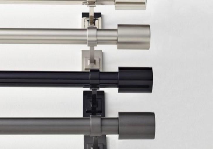 Modern Double Curtain Rod