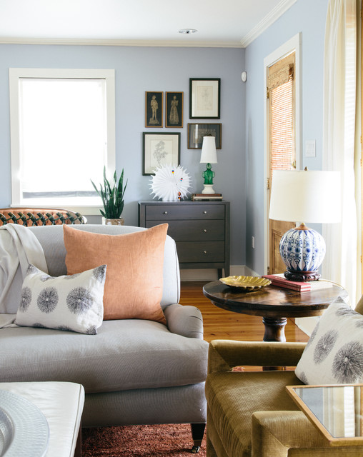 Nashville Residence Eclectic Living Room New Orleans By Logan Killen Interiors