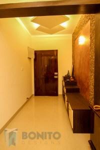 Mr Saurabh - Foyer Area Wall Design