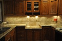 Granite Countertops and Tile Backsplash Ideas - Eclectic ...