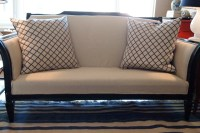 Reupholstered Couch DIY - Traditional - Loveseats - st ...
