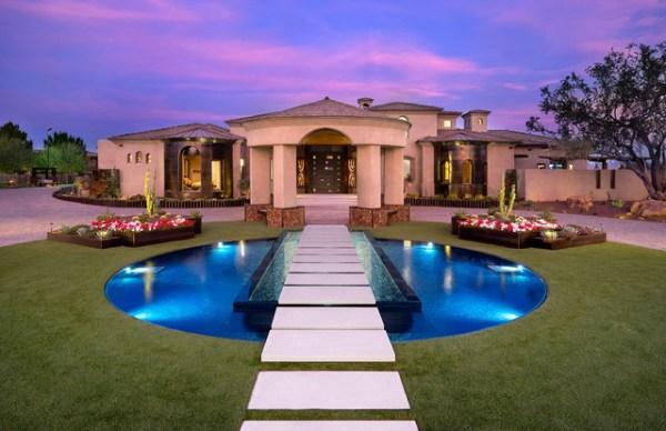 residential landscape - modern