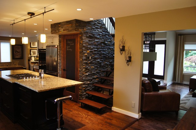 red stone outdoor kitchen how much does a island cost west coast contemporary renovation