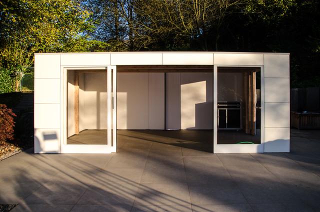 Modernes Gartenhaus Aus Holz Orznge Com  Ifmore