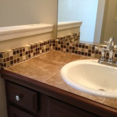 Hanging Chair Lowes Eddie Bauer High Tile Countertop And Backsplash - Traditional Bathroom Jacksonville By Chris Jones Home ...