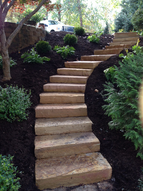 steps and hardscape