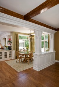 Transition from Family Room to Breakfast Room ...