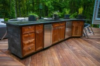 Kennesaw outdoor kitchen #2 - Contemporary - Patio ...