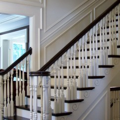 Decorative Screens For Living Rooms Room Tree Timeless Classic Stair Designs - Traditional Staircase ...