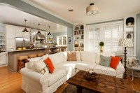 """""""Modern"""" Country Kitchen - Eclectic - Living Room - dc ..."""