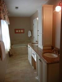 Narrow Master Bathroom Remodel - Marietta, GA 30062 ...