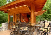 Pool Bar - Rustic - Patio - other metro - by Westwind ...
