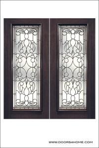 Exterior and Interior Beveled Glass Doors Model # L ...