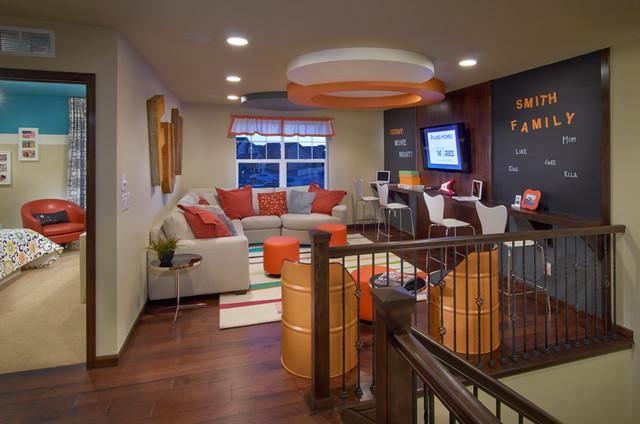 Ryland Homes Pioneer Ridge Modesl  Contemporary  Family