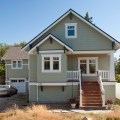 Greenlake custom home craftsman exterior seattle by ventana
