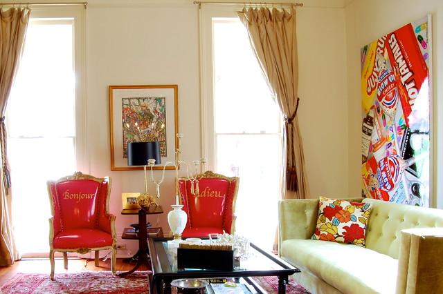 My Houzz: Colorful eclectic style in a traditional New