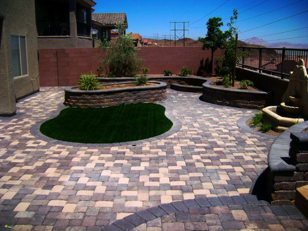 paver installations - contemporary