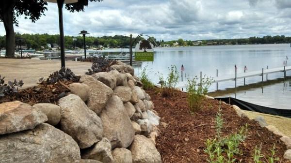 shoreline landscaping