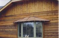 Custom Copper Bay Window Cover - Exterior - los angeles ...