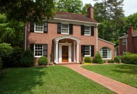Portico & Shutters - Traditional - Exterior - charlotte ...