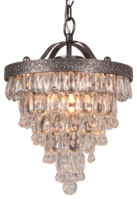 Terracotta Designs Bardolino Glass Drop Chandelier, *Houzz ...