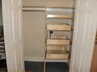 linen closet pull out shelves  Roselawnlutheran