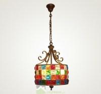Modern Unique Designed Colored Glass Pendant Lights 110V ...