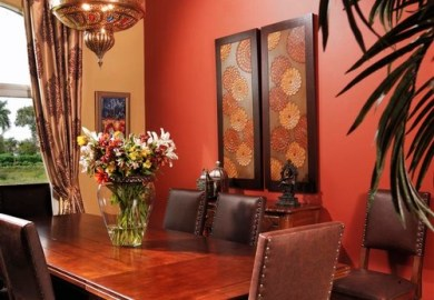 Tuscan Formal Dining Room Ideas