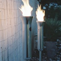 Contempo Garden Torch contemporary-outdoor-lighting