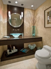 Modern/Contemporary Powder Room