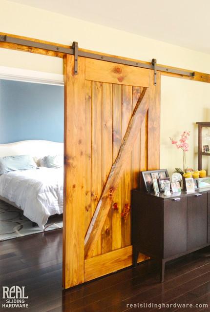 Barn Door Installations  Traditional  Bedroom  chicago