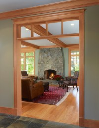 what is the wall paint color & wood trim color?