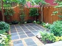 Harlem Backyard Patio: Bluestone Pavers, Shade Garden ...