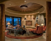 Traditional Southwest Territorial - Southwestern - Living ...