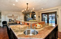 Spanish Style Kitchen Remodel - Traditional - Kitchen ...