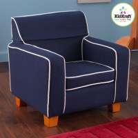 Personalized Laguna Kid's Club Chair - Modern - Kids Chairs