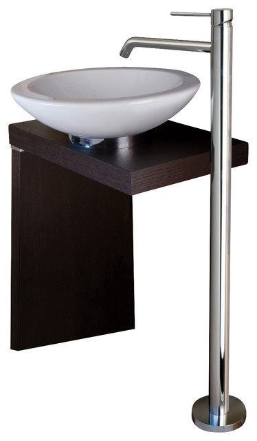 WS Bath Collections Light Free Standing Bathroom Sink