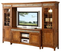 Riverside Furniture Craftsman Home TV Entertainment Center ...