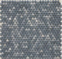 Penny Round Mosaic tiles - Eclectic - Mosaic Tile - by ...