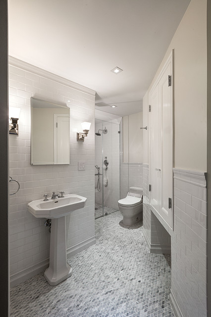 Pre War Apartment Traditional Bathroom New York By